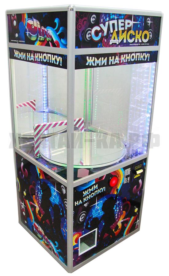 Призовой автомат 'Супер Диско-2' ( скат для мячей)