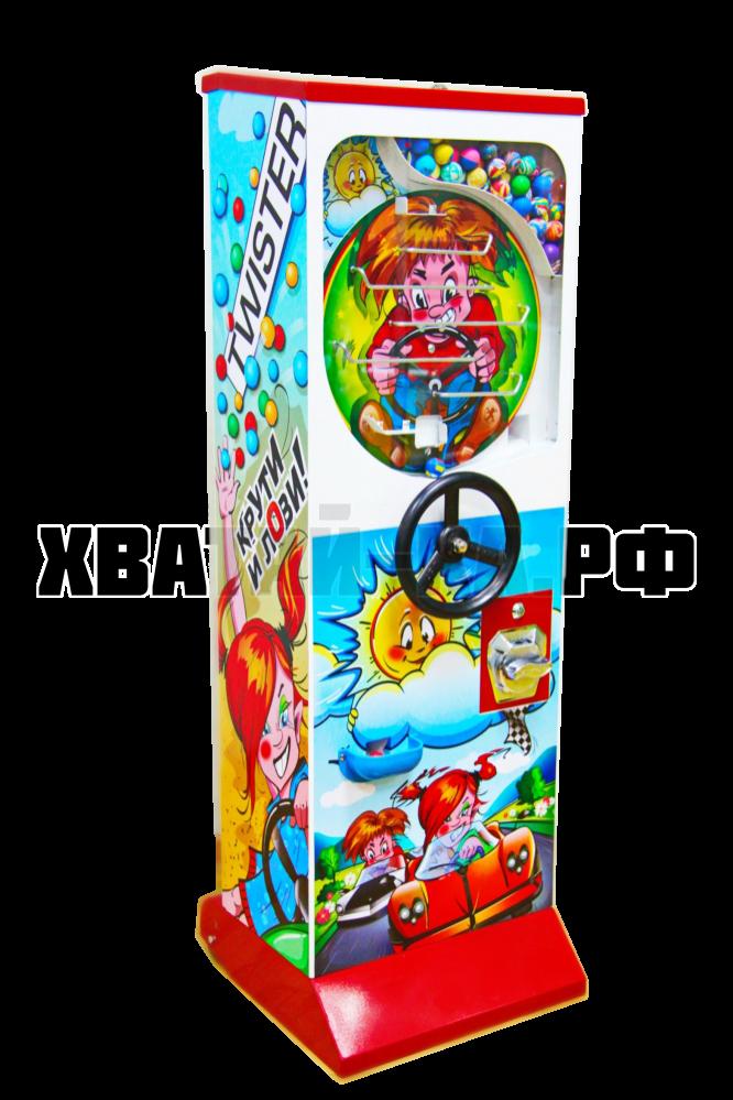 Автомат для продажи мячей-прыгунов ЗА РУЛЕМ