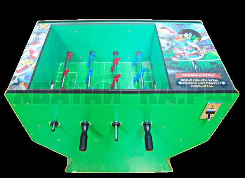 Аппарат для продажи мячей-прыгунов ФУТБОЛ - 4, ( 4 линии футболистов )